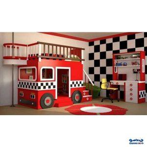 سرویس اتاق کودک قرمز
