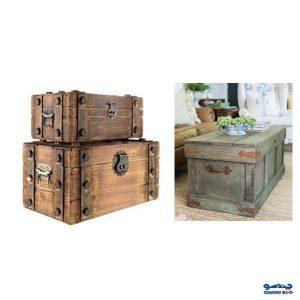 استفاده از لوازم دکوری و تزئینی و صندوقچه تزئینی
