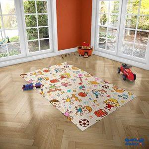 فرش اتاق کودک دستیکور
