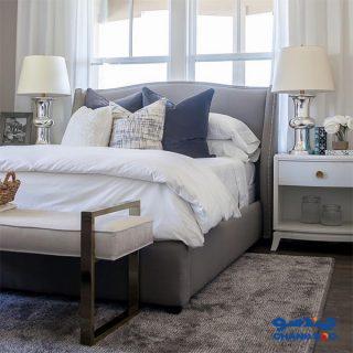 عکس پرسپکتیو تخت خواب میله مدل B114