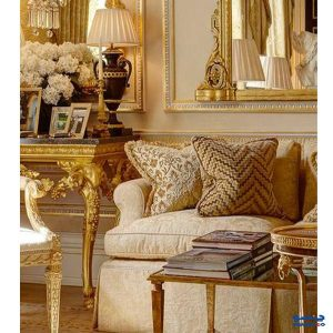 رنگ طلایی در دکوراسیون داخلی