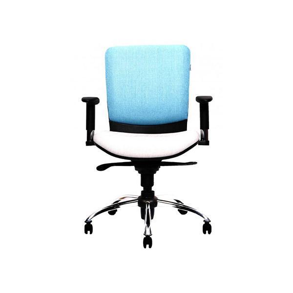صندلی آبی کارمندی لیو مدل s62i