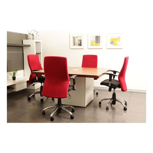 صندلی قرمز کارشناسی لیو مدل H72k