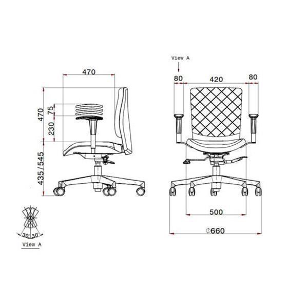 صندلی کارمندی لیو مدل s62u